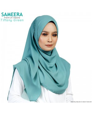Sameera Premium Deana Shawl Tiffany Green