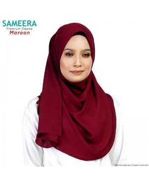 Sameera Premium Deana Shawl Maroon