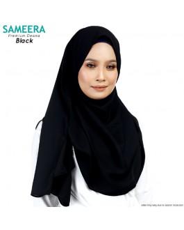 Sameera Premium Deana Shawl Black