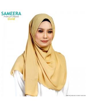 Sameera Premium Deana Shawl Gold