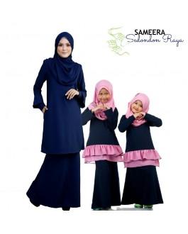 Sameera Princess Skirt Navy Blue
