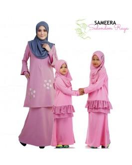 Sameera Kurung Princess Top Pink