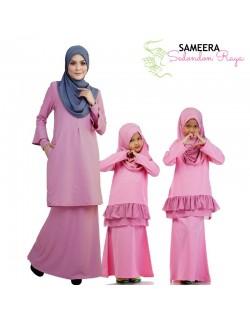 Sameera Kurung Princess Bottom Pink