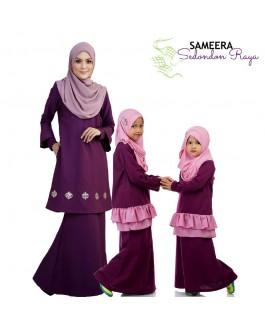 Sameera Kurung Princess Top Purple