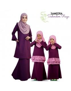 Sameera Kurung Princess Bottom Purple