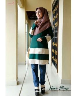 Muslimah4u Adeeva Blouse Green