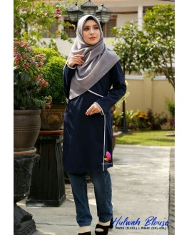 Muslimah4u Hulwah Blouse Blue