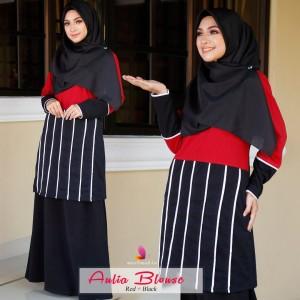 Muslimah4u Aulia Blouse Maroon