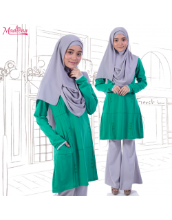 Madeena MED0084C Turquoise Green