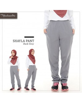 Muslimah4u Shayla Pants Dark Grey