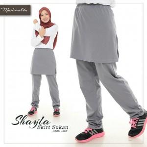 Muslimah4u Shayla Skirt Dark Grey