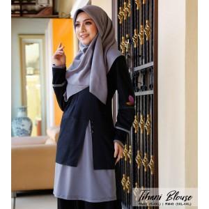 Muslimah4u Tihani Blouse Black