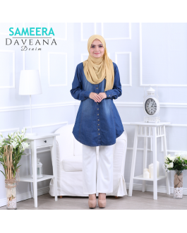 Sameera Daveana Denim Blue