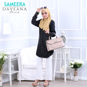 Sameera Daveana Denim Black