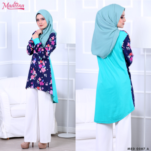 Madeena MED0087A Turquoise Floral