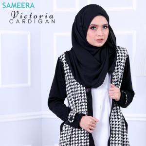 Sameera Victoria Cardigan Black