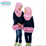 Sameera Princess Top Navy Blue