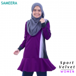 Sameera Sport Velvet Women (Purple)
