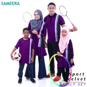 Sameera Sport Velvet Women (Purple)