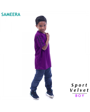Sameera Sport Velvet Boy (Purple)