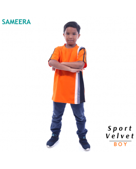 Sameera Sport Velvet Boy (Orange)