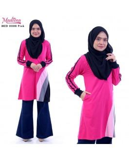 Baju Muslimah MED0088 Pink