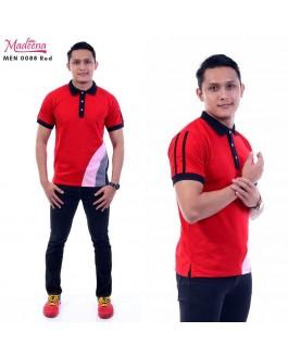 Men Polo Shirt MEN0088 Red