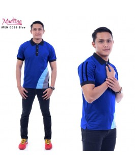 Men Polo Shirt MEN0088 Blue