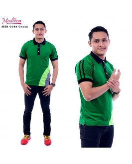 Men Polo Shirt MEN0088 Green