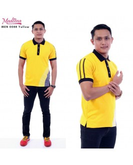 Men Polo Shirt MEN0088 Yellow