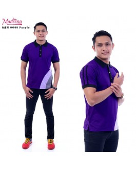 Men Polo Shirt MEN0088 Purple
