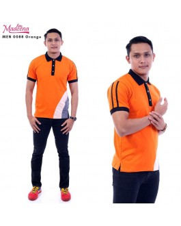 Men Polo Shirt MEN0088 Orange