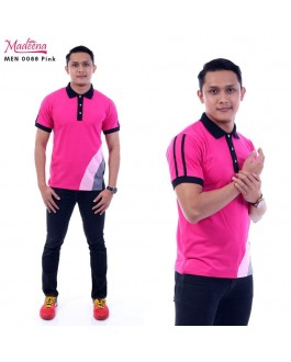 Men Polo Shirt MEN0088 Pink