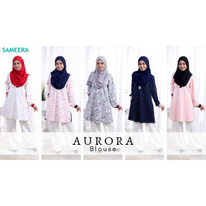 Blouse Muslimah Aurora Black