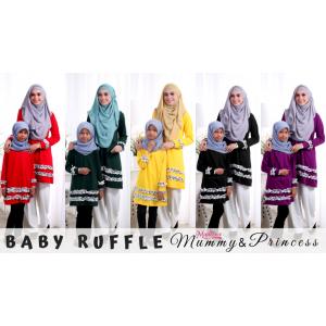 Baju Muslimah MED0089 Royal Purple