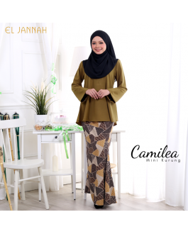 Mini Kurung CAMILEA Gold Brown