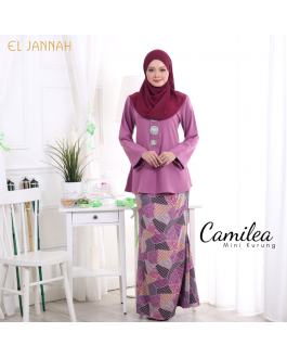 Mini Kurung CAMILEA Lilac Purple
