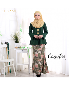 Mini Kurung CAMILEA Hunter Green