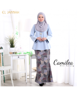 Mini Kurung CAMILEA Powder Blue