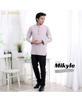 Kurta MEN MIKYLE Silver Grey