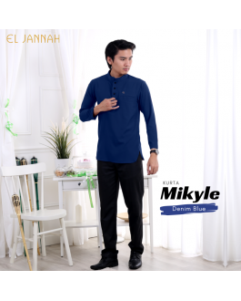 Kurta MEN MIKYLE Denim Blue