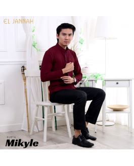 Kurta MEN MIKYLE Maroon Cherry