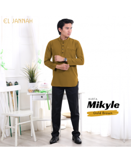 Kurta MEN MIKYLE Gold Brown