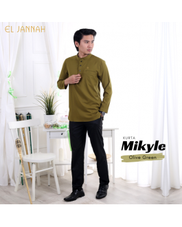 Kurta MEN MIKYLE Olive Green