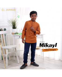 Kurta BOY MIKYLE Yellow Marigold