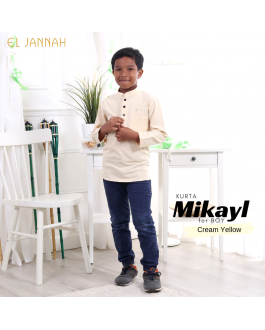 Kurta BOY MIKYLE Cream Yellow
