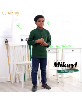 Kurta BOY MIKYLE Hunter Green