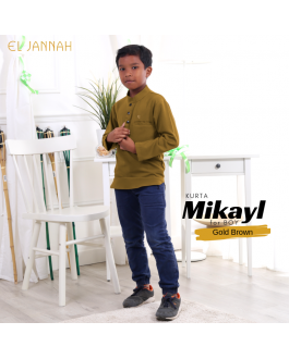Kurta BOY MIKYLE Gold Brown
