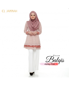 El Jannah Blouse Balqis Ashley PINK