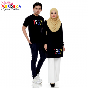Baju Muslimah MADEENA Merdeka 2019 S.E Main Black